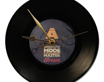 "Clock Vinyl DEPECHE MODE ""Master And Servant"""