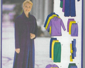 Sewing Pattern - Out of Print Womens Jacket, Turtle Neck, Pencil Skirt, pants and Sash # 5699 TK