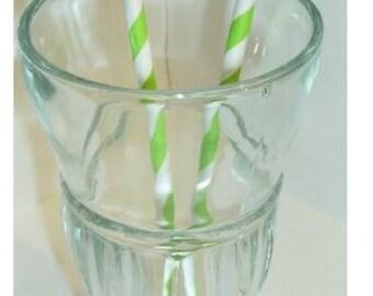 Gender Reveal Straws, Party Favor  Birthday Party, Baby Shower Little Man Mustache Lip 10 straws (927S)