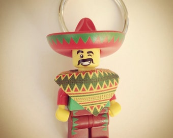 Old Mexican             Lego keychain