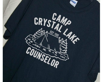 FRIDAY THE 13TH Camp Crystal Lake Counselor T Shirt