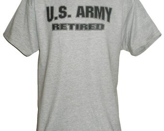 U.S. Army Retired T-Shirt