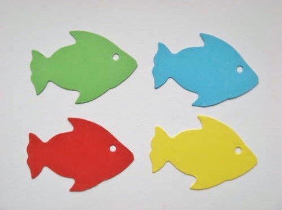 50 Cute Fish Die Cuts For Childrens Cards Toppers Cardmaking