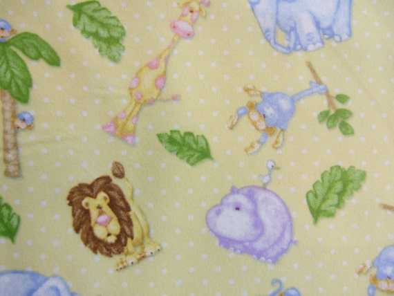 By the yard the mighty jungle henry glass fabrics for Children s flannel fabric by the yard