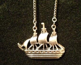 Ship Necklace