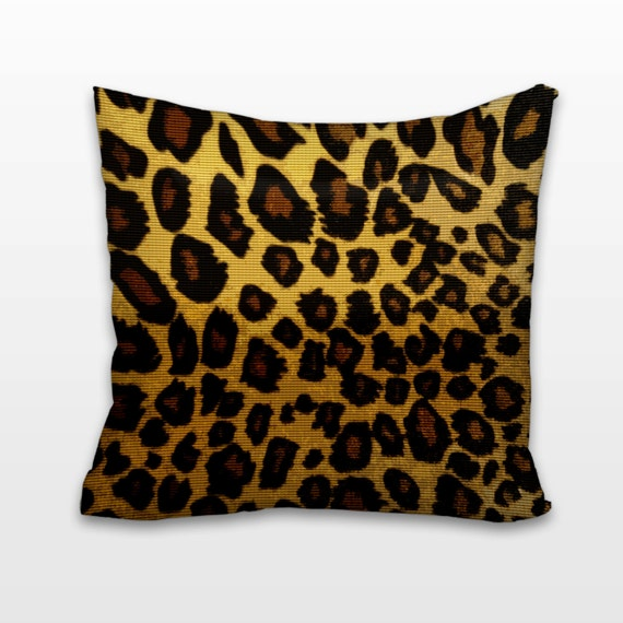 Animal Print Needlepoint Pillows : Items similar to Leopard Spots: Needlepoint Pillow / Cushion Kit on Etsy