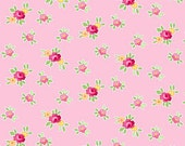 Pam Kitty Favorite - Mini Floral - Chintz Roses on Pink