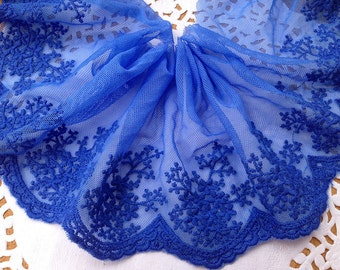 1yard DIY colored Lace trim little flower ambroidered lace ribbon DIY material 10cm lace belt online sale
