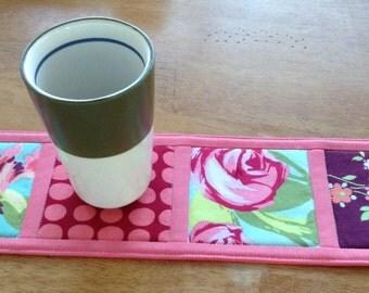 Family Coaster Mat ~ Mug Rug