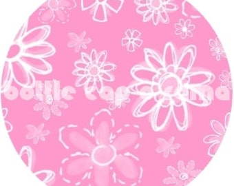 "SPRING PASTELS PATTERNS 2, bottle cap images, bottlecap images, bottle cap designs, 1"" circles"