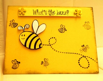 """Bumble Bee """"What's the Buzz? Card"""