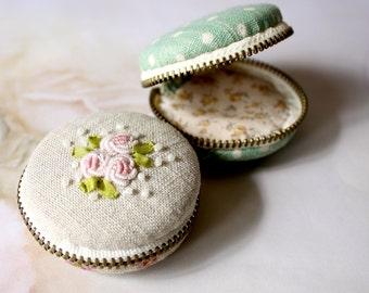 5cm DIY Macaron coin bag kit set