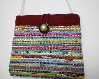 Unique Recycled Shopping Bags Purses