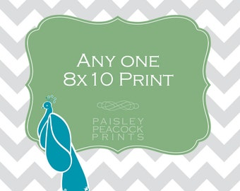 Choose Any One 8x10 Print