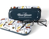 Music Glasses Hard Case: perfect gift for musicians and music-lovers