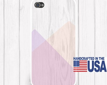 Wood Color Block Phone Case Color Block iPhone Case Personalized Phone Case  iPhone 5 iPhone 5S iPhone 5C iPod Samsung iPhone 4/4S iPhone 6
