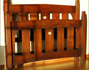 Stickley Inlay Bed