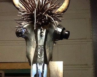 Steampunked Buffalo Head