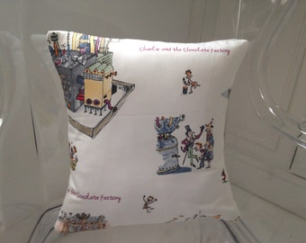 "Quentin Blake Charlie and the Chocolate factory Childrens  16 "" cushion cover"