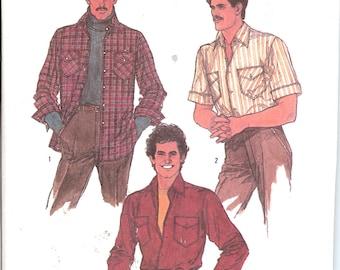 Simplicity 8541 UNCUT  Men's Shirt   ID309