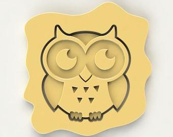 Boy Owl Cookie Cutter