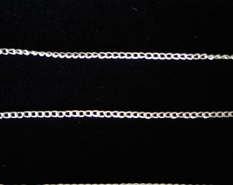 Silver Chain Supply for Jewelry Making