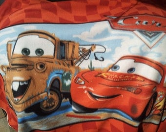 On Sale!!!!!!Cars Panel Fleece Fabric