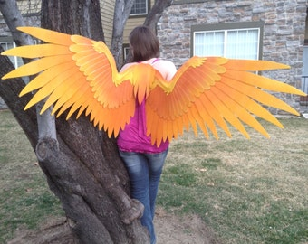 Two Toned Cosplay wings, Made to Order