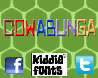COWABUNGA Commercial Font