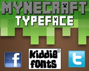 MYNECRAFT Commercial Font