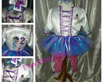 Doc McStuffins Lab Coat and TuTu Dress & Headband Set