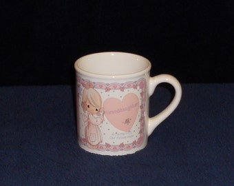 """Precious Moments """"Granddaughter"""" Cup - Mint Condition - 1994"""