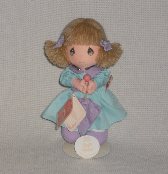 Precious Moments Doll Of The Month Numbered By