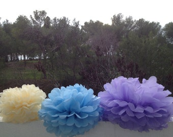 nursery decor 3 Tissue Paper Pom Pom Bridal Shower Decor Tissue Pom Pom Paper Decorations Tissue Paper Flowers Wedding Decoration Paper Pom