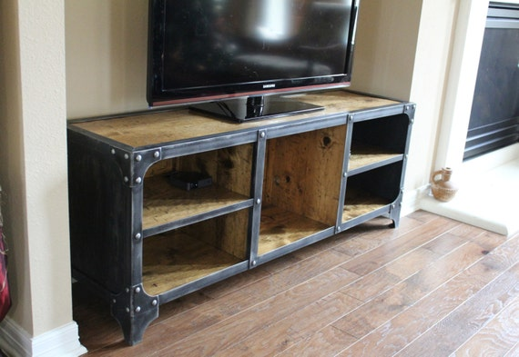 Media Console / TV stand Industrial style