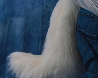 High Quality Arctic Fox Fursuit Tail