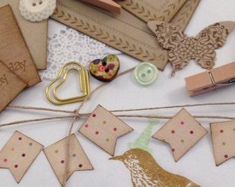 DIY Gift Wrap Kit - Happy Bird-day!