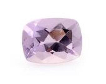 Pink Amethyst Cushion Cut Loose Gemstone 1A Quality 8x6mm TGW 1.20 cts.