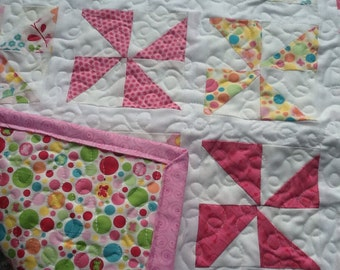 Pink Pinwheel Quilt
