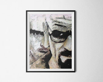 BREAKING BAD Printable Wall Picture Poster Postcard Art Instant DOWNLOAD Print  Jpeg Pdf