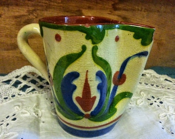 Torquay Mottoware Small Pitcher May All Good Befortune You