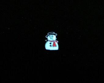 Snowman Floating Charm fit Origami owl lockets