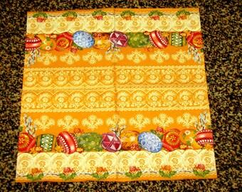 """6 Decoupage Paper Napkins Easter 25x25 cm. 10""""x10"""" set of 6 pcs"""