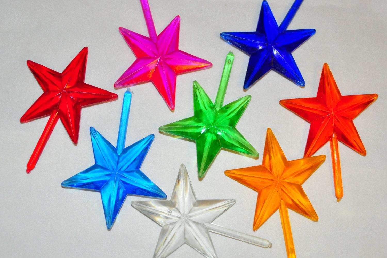 Ceramic Christmas Tree Topper Star Chunky Star By