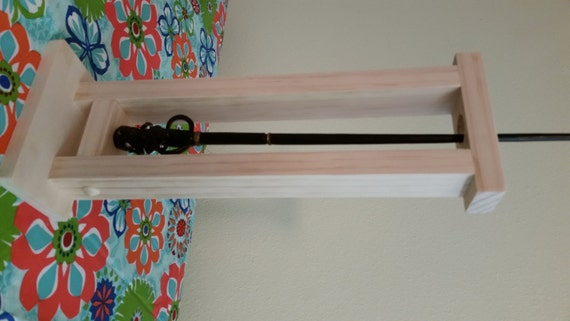 magic wand custom single wand holder wand display new. Black Bedroom Furniture Sets. Home Design Ideas