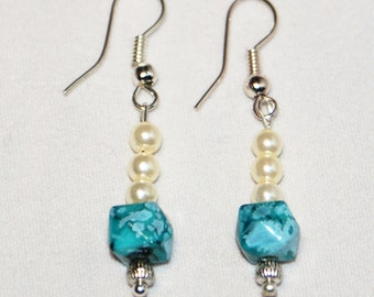 Charming Imitated Ivory Pearl Earrings