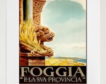 Travel Art Italian Print Poster Italy Vintage Home Decor (XR90)