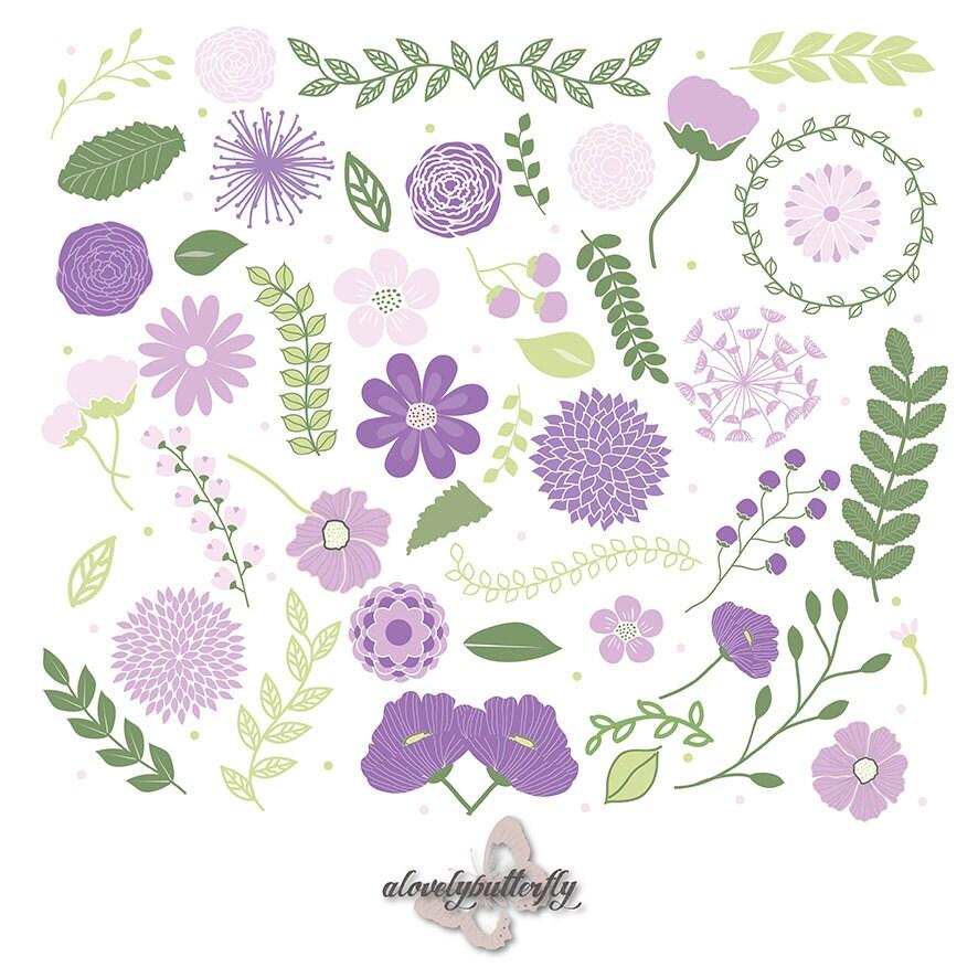 Wedding dress clip art purple