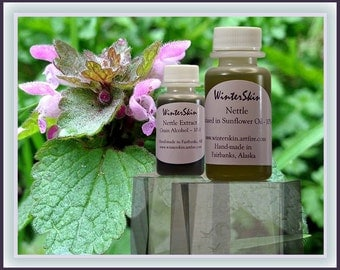 Nettle Oil Extract, Skin Scalp Irritation, Itchy Skin, Arthritis Ointment, Macerate