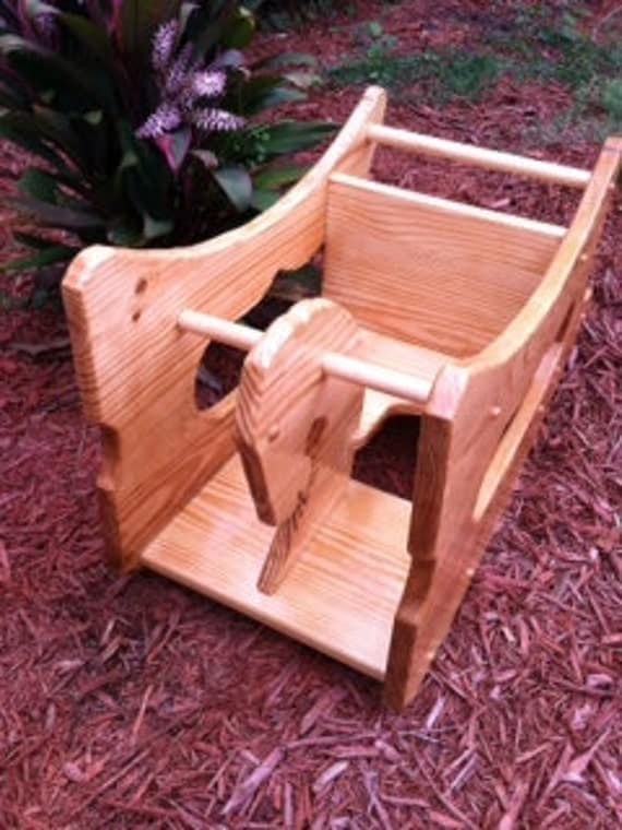 Items Similar To The Convertable 3 In 1 Rocker High Chair Desk On Etsy